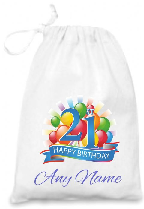 21st Birthday Gift Bag